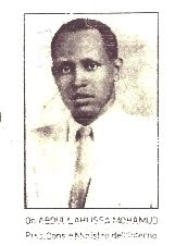 Eerst President  SOMALIA