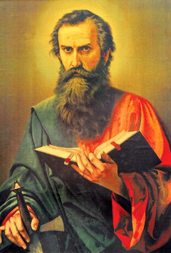 S. Paulo, apóstolo evangelista.