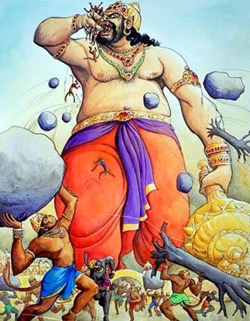 Shri Ram killed Kumbhakarna