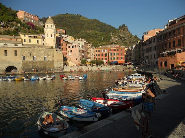 harbor Vernazza Italy