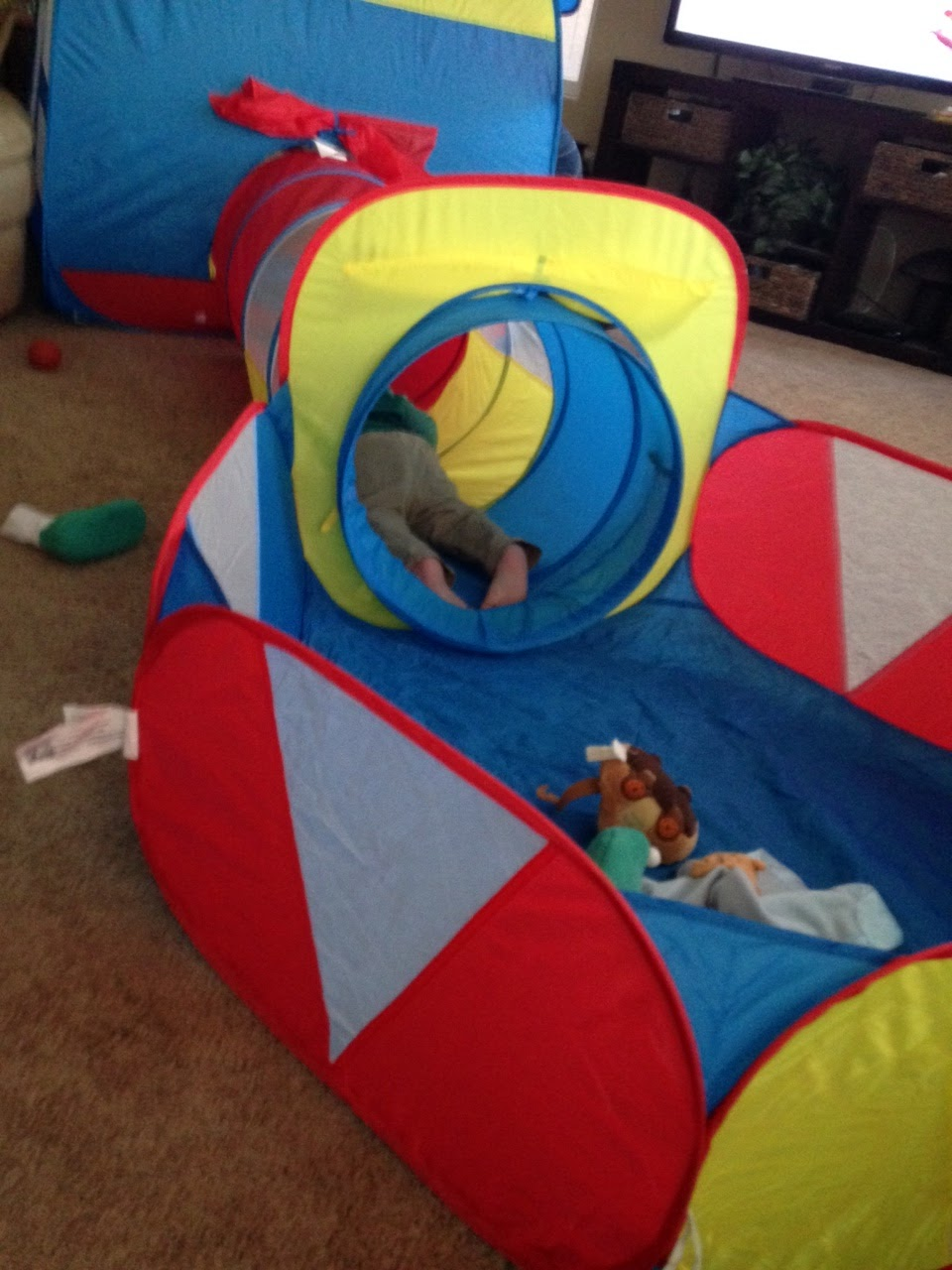 The Little Things and This n That Truedays Kids Playhouse Adventure Play Tent Indoor Outdoor Tunnel Pool 3 Pieces Set (Ball Is Not Include) & The Little Things and This n That: Truedays Kids Playhouse ...