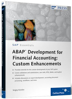 ABAP programming for SAP Financial Accounting - Customer-specific enhancements (SAP PRESS)