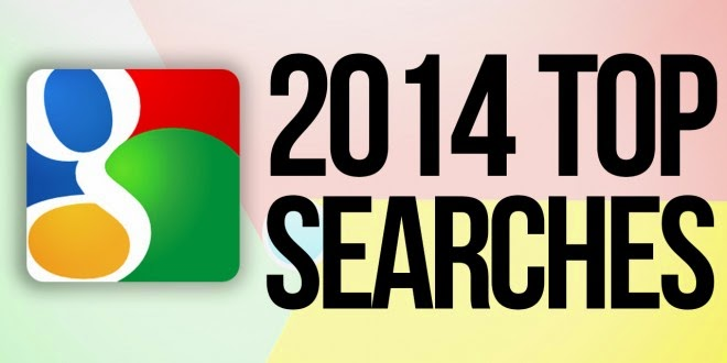 2014 - Most popular Google searches