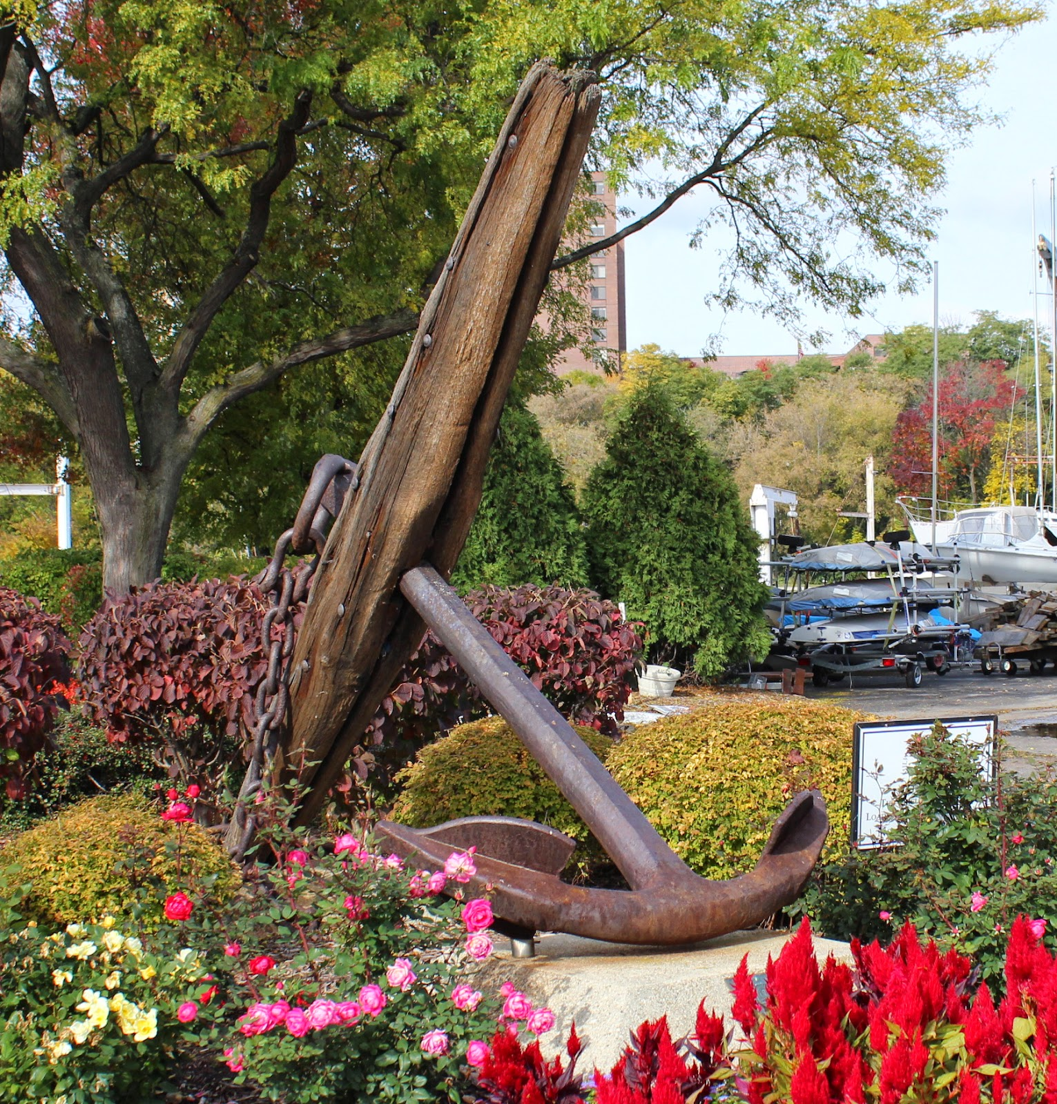Wisconsin Historical Markers Anchor From The Rouse Simmons