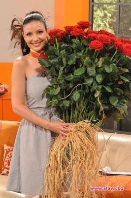 Ники Цветаря подари 101 рози на Вихра