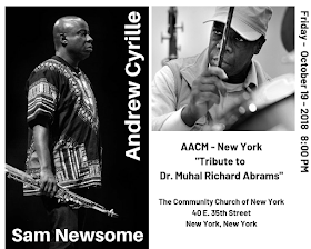 Andrew Cyrille/Sam Newsome Duo