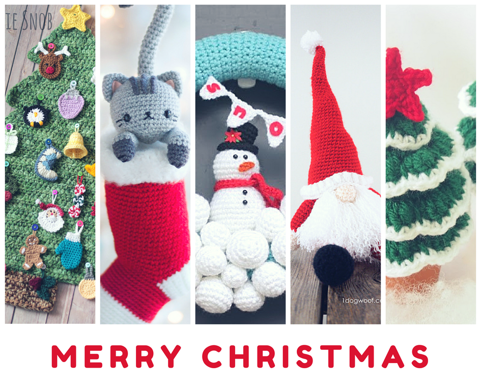 12 Weeks Of Christmas Crochet Projects Once Upon A Cheerio