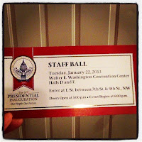 OFA Staff Ball ticket
