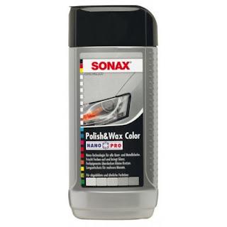 pulēšanas pasta sonax polish wax