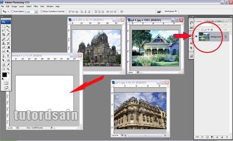 Cara menggabungkan beberapa gambar chanel menjadi 1 ...
