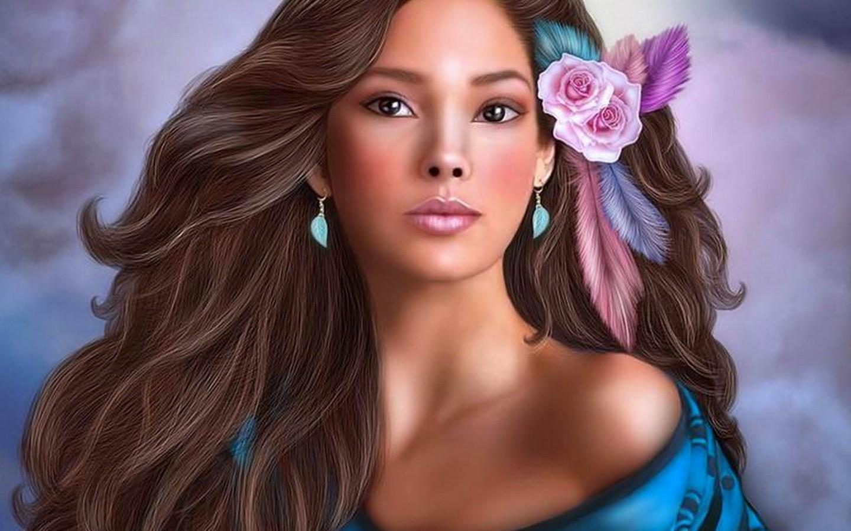 hd: fantasy - girl 32