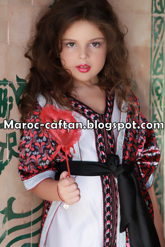 caftan pour petites filles 2012