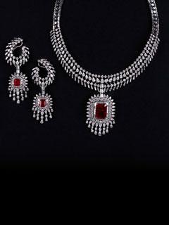 Stunning Jewel Peerless Diamond Jewellery Designs Only At PC Jeweller
