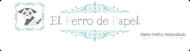 El perro de papel - diseño gráfico personalizado, diseño de blog