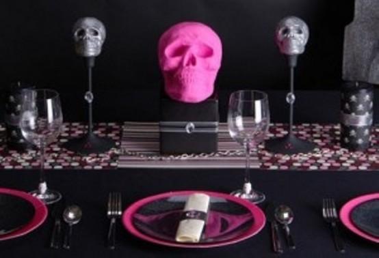 C mo decorar la mesa para halloween casas decoracion - Decoracion mesa halloween ...