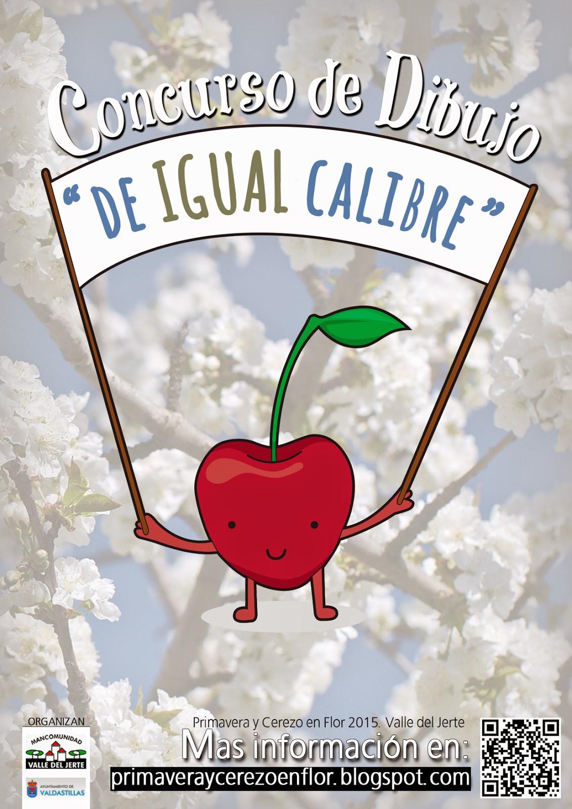 "Concurso de dibujo ""De Igual Calibre"". Valle del Jerte."