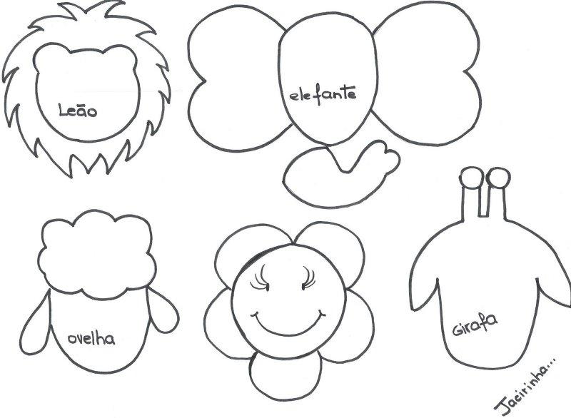 Las chorradikas de Laury: Muñecos para lápices en fieltro o foami