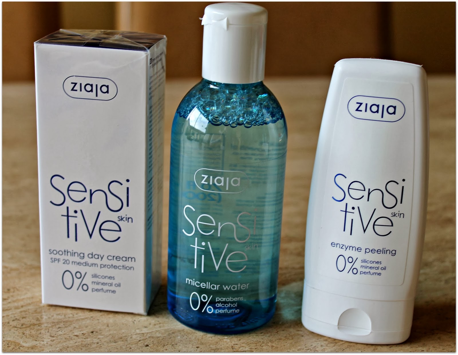 Ziaja SenSitive skincare