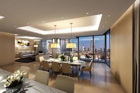 intereior of luxury apartment