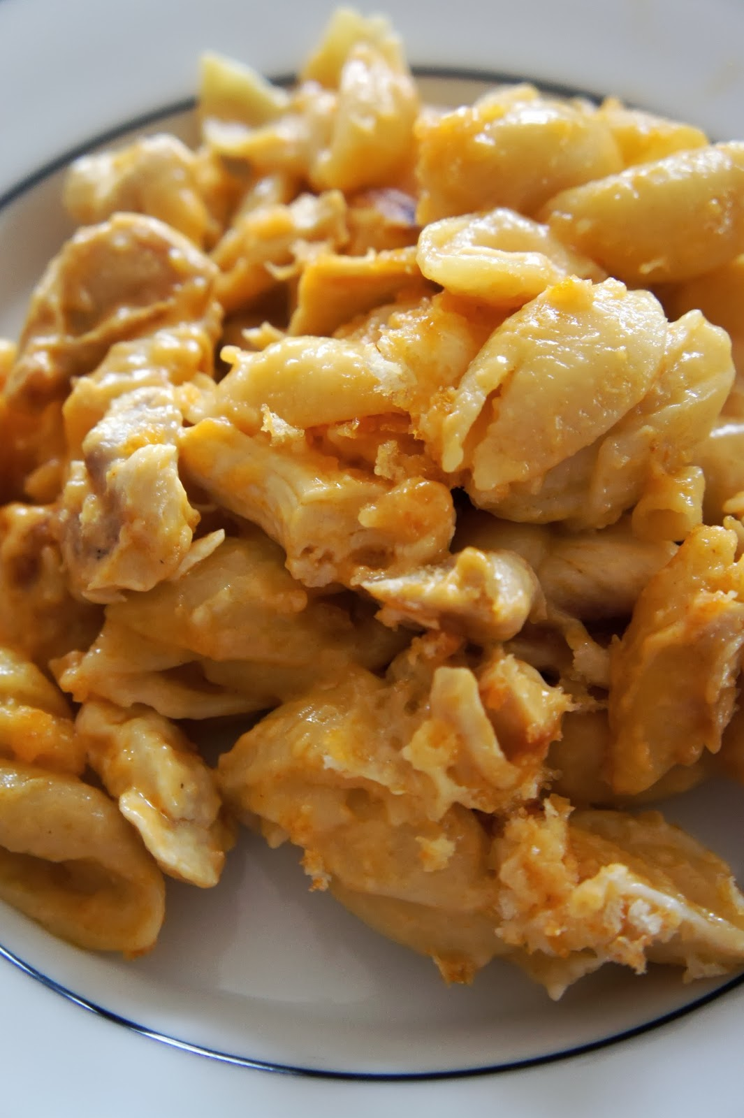 Savory Sweet and Satisfying: Buffalo Chicken Macaroni and ...