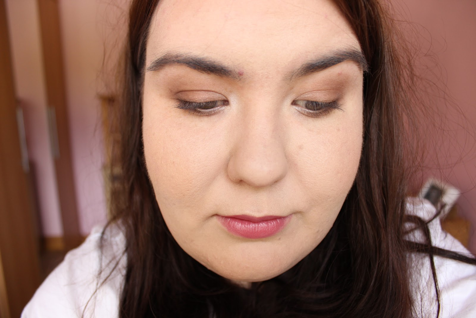look created with rimmel brixton brown