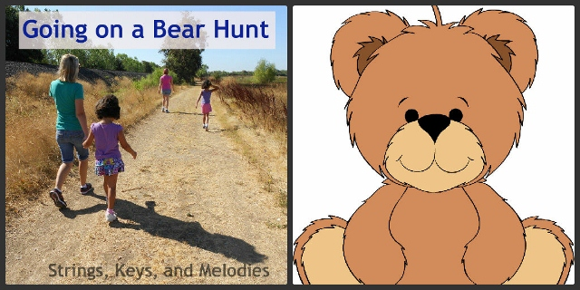Finger Play Fun Day:  Going on a Bear Hunt photo