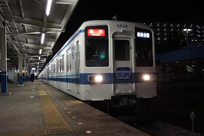 東武東上線最後の10両編成の8000系8175F+8506F