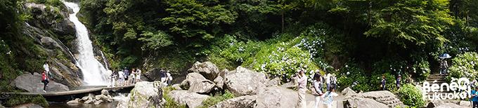 Panorama Mikaeri no Taki, Saga