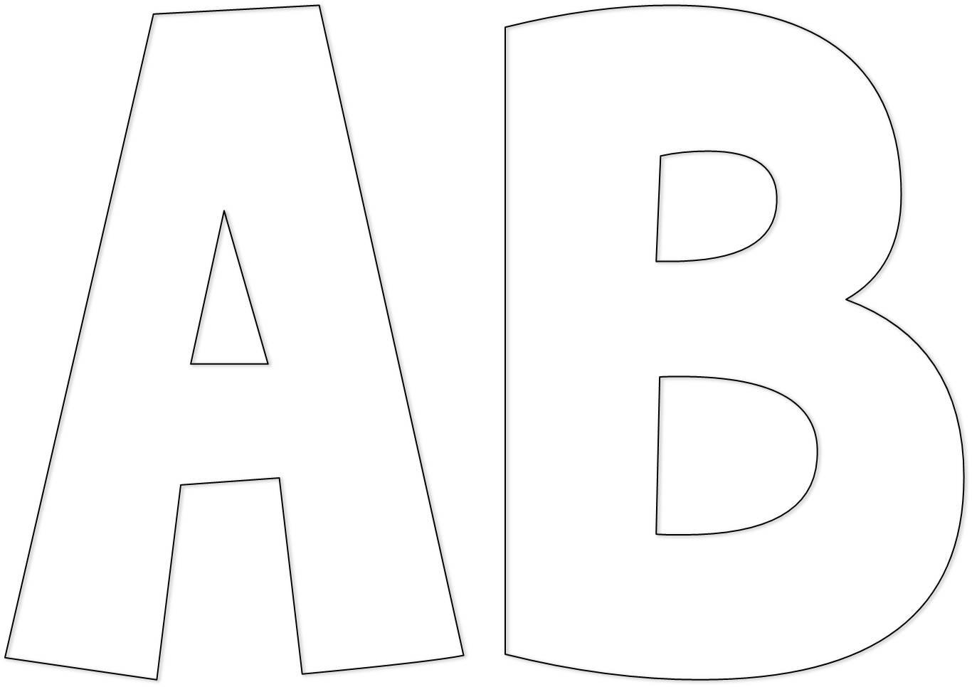 Sementinha mission ria alfabeto grande - Letras para letreros grandes ...