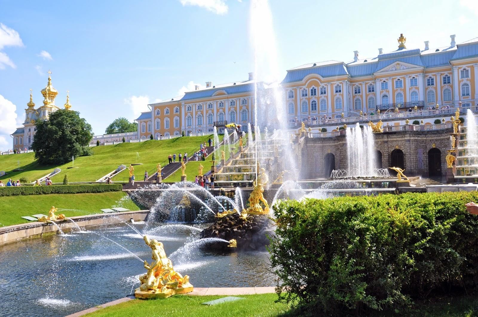 летний дворец Екатерины