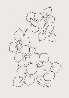 flores silvestres para pintar