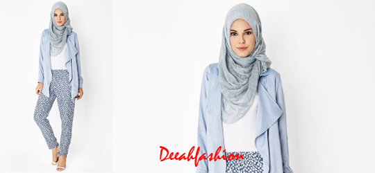 Gaya Jilbab 2015 Simple Gak Ribet