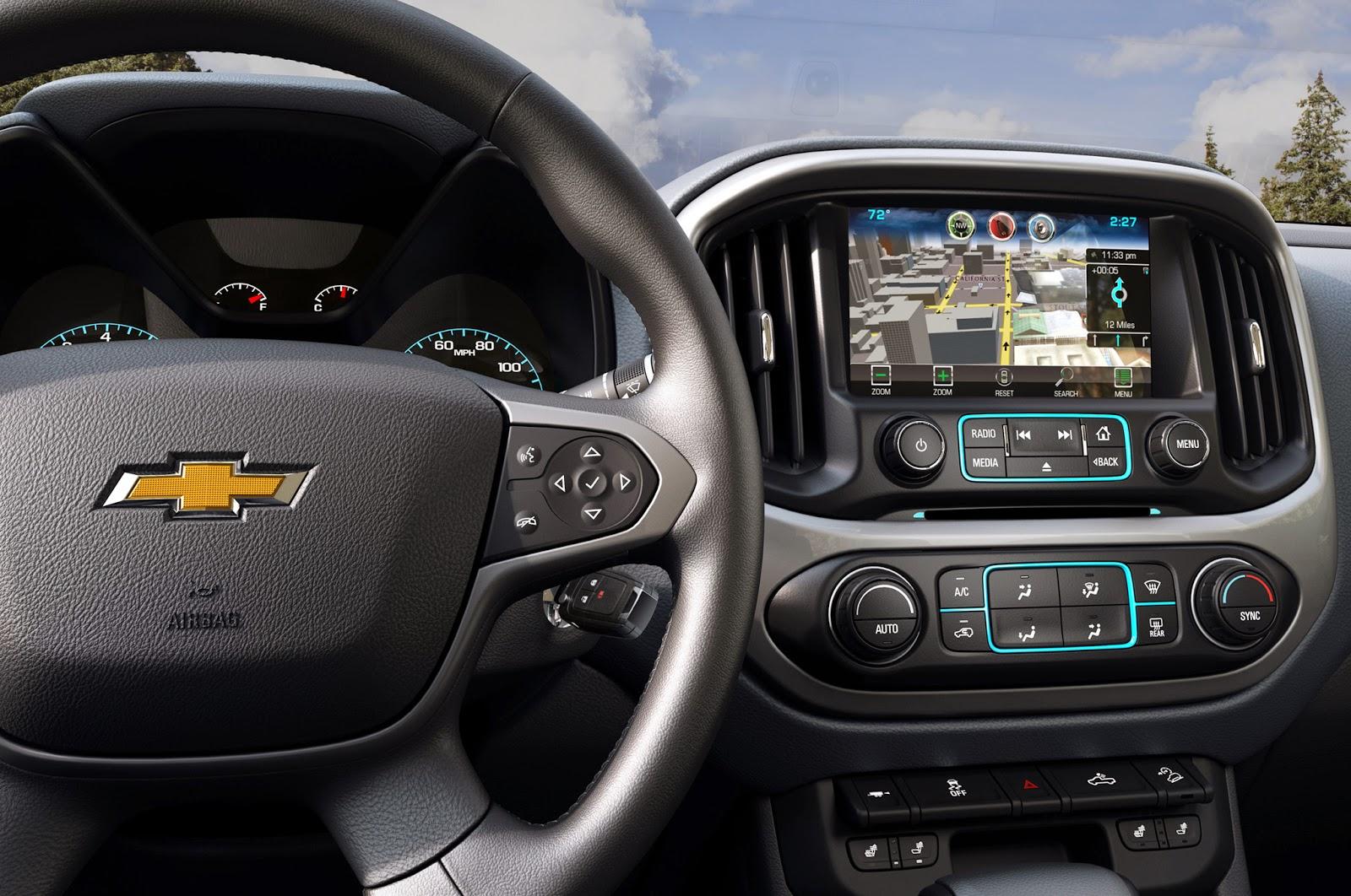 Photos Of The 2015 Chevrolet Colorado