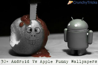 Apple Vs Android Funny Wallpapers Collection
