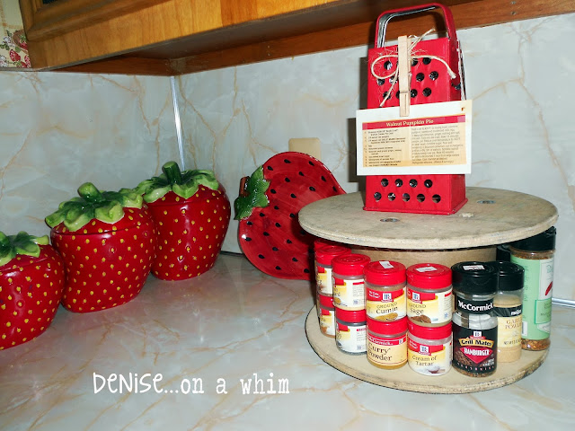 Kitchen Update Inspired by Some Talented Ladies via http://deniseonawhim.blogspot.com