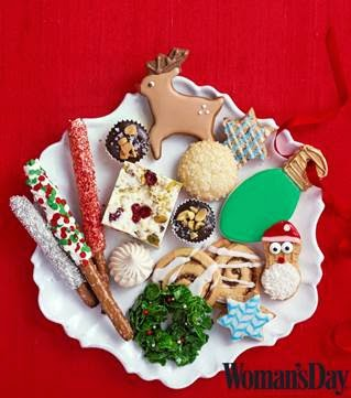 womans day holiday cookies