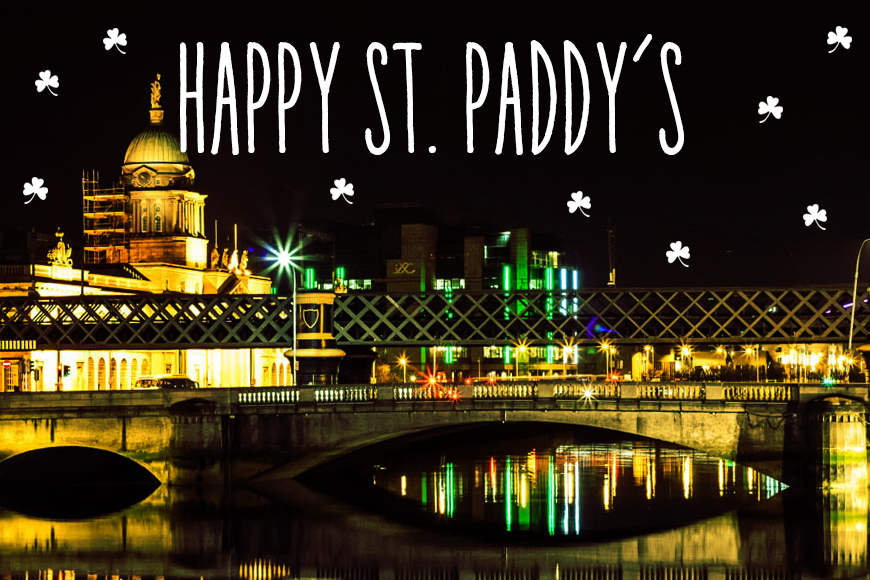 Dublin at Night - St. Patrick's Day