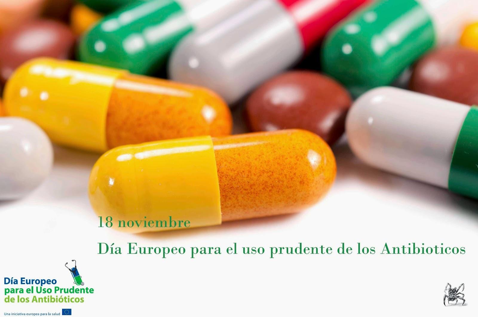 el 18 de noviembre es el día europeo para el uso prudente de los antibioticos