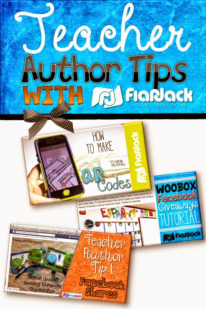 Teacher Author Tips