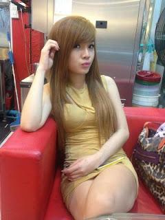 Lin Sweet Facebook Sweet Girl Sexy Tights 5