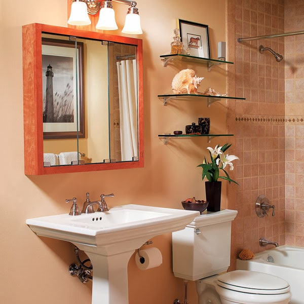 Bathroom Accessories For Small Spaces modern furniture: 2014 clever solutions for small bathrooms