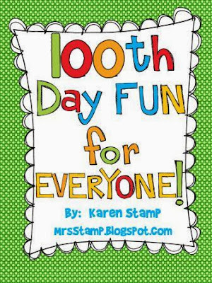 http://www.teacherspayteachers.com/Product/100th-Day-FUN-for-EVERYONE-537578