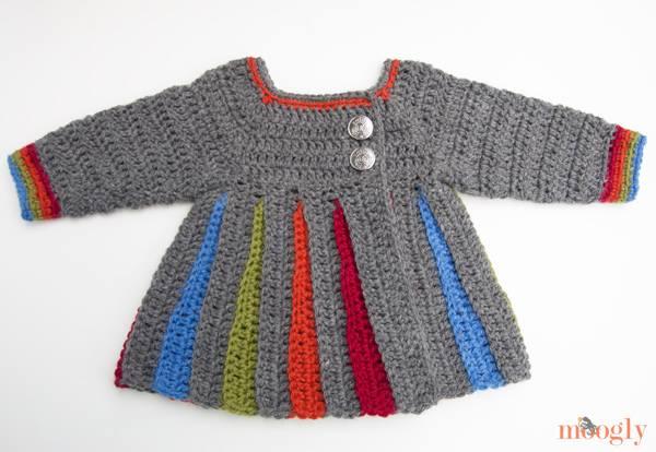 Tığ İşi  Basit Bebek Hırkası Modeli
