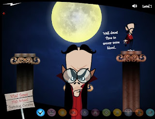play and download Vampire Skills flash game free
