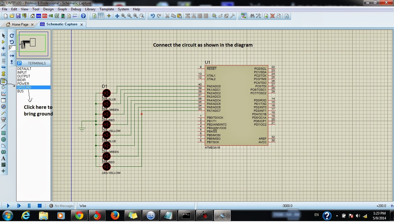 Hack Everything And Everyone Simple Led Project Explained Using Simulation Result Of Blinking Circuit Diagram Now Its Programming Time Get Ready Programmer
