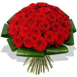50 szál vörös rózsa