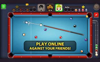 صورة من لعبة البلياردو للتليفونات
