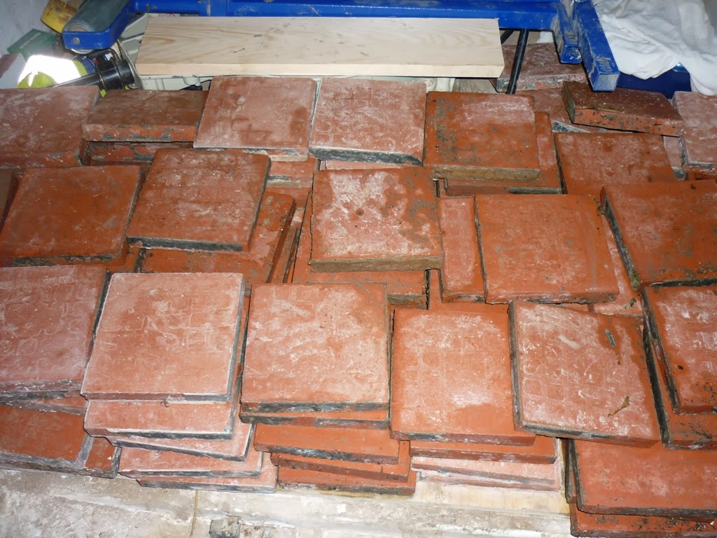 An english homestead reclaimed quarry tile floor reclaimed quarry tile floor dailygadgetfo Image collections