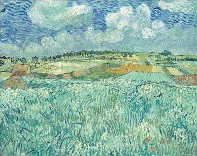 Vincent Van Gogh - Plaine près d'Arles,1890.