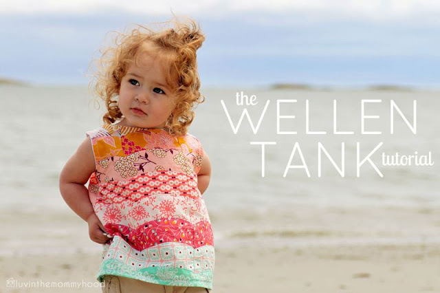 Wellen tank sewing tutorial